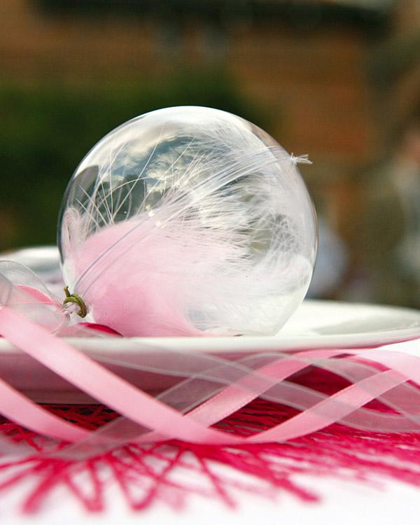 Godteball: Transparent ball - 10cm