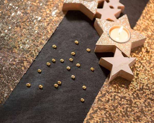 Konfetti: Metallic Perler