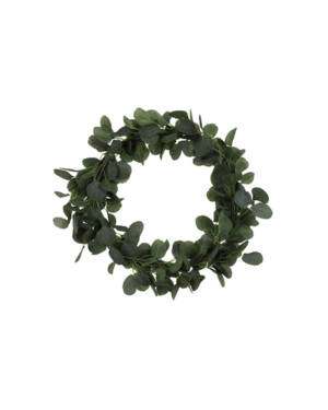 Grønn eukalyptus krans
