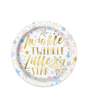 Twinkle Twinkle Little Star Tallerken