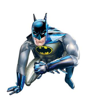 Folieballong: Gående Batman - 91 x 111cm