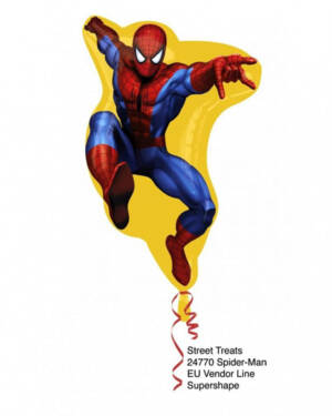 Folieballong: Spiderman - 67 x 49cm