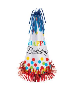 """Festhatt: """"Happy Birthday"""" - 33cm"""