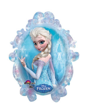 Folieballong: Frozen - Elsa - 63 x 78cm