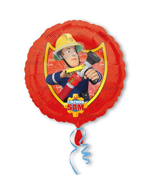 Folieballong: Brannman Sam - 43cm