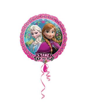Syngende Folieballong / Folieballong med musikk: Frozen - 71 x 71cm