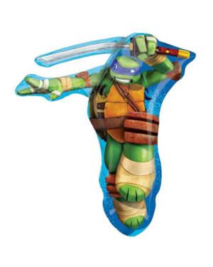 Folieballong: Teenage Mutant Ninja Turtle - 63 x 71cm