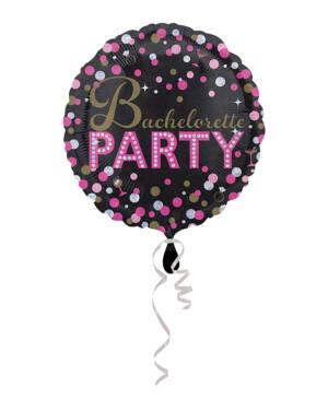 """Folieballong: """"Bachelorette Party"""" / Utdrikningslag - 43cm"""