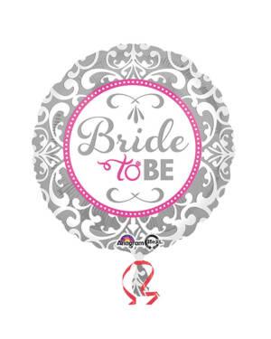 "Folieballong: ""Bride To Be"" - 43cm"