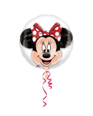 Folieballong: Minni Mus - 60 x 60cm