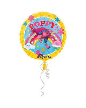 "Folieballong: Trolls - ""Poppy!"" - 43cm"