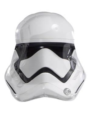 Folieballong: Star Wars Storm Trooper Maske - 55cm