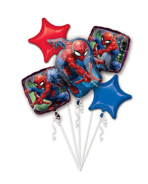 Ballongbukett: Spiderman