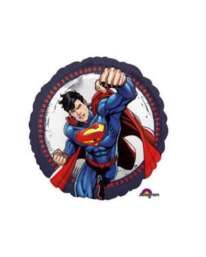 Folieballong: Supermann - 43cm