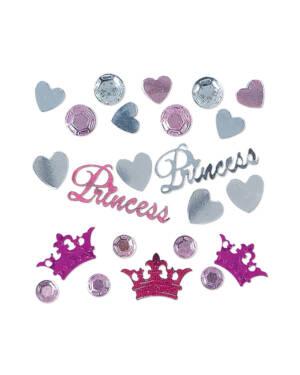 Konfetti: Prinsesse - Rosa - 34g