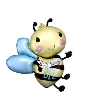 """Folieballong: """"Little Honey BEE"""" - 63 x 76cm"""