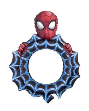Folieballong: Spiderman Selfieramme - 68 x 81cm