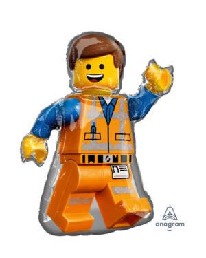 Folieballong: Lego - Lego Movie 2 - Emmet - 60 x 81cm