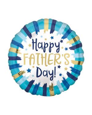 "Folieballong: ""Happy Father's Day"" - 45cm"