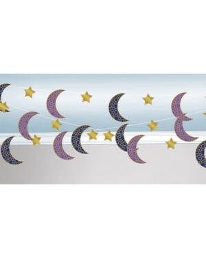 Swirls (6stk): Eid - Måner - 213cm