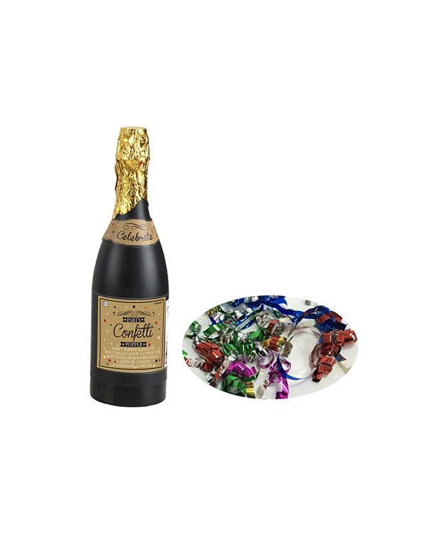 Konfettikanon: Champagneflaske - 33cm