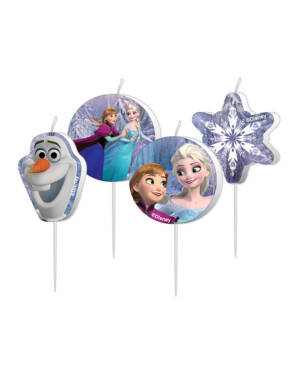 Kakelys (4stk): Frozen