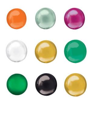 Orbz / Speilballong: Flere farger - 38 x 40cm