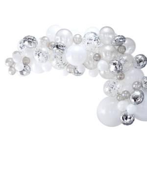 Ballongbue: Sølv - Gjør-det-selv (DIY) sett