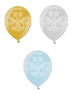 Lateksballonger (50stk): Wed. Classic- 30cm