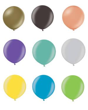 Lateksballong: Metallic - 90cm