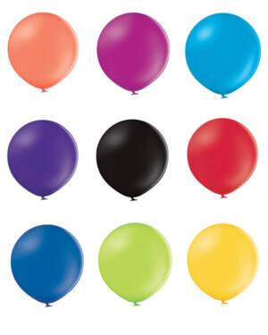 Lateksballong: Pastel - Flere farger - 60cm