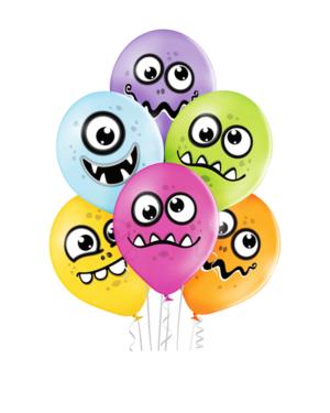 Lateksballonger (50stk): Monster - 30cm