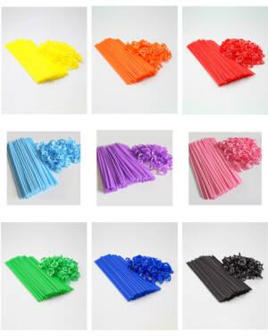 Ballongpinner / Cups & Sticks: Flere farger - Per stk