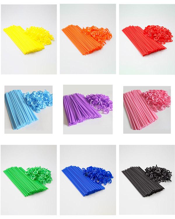 Ballongpinner / Cups & Sticks: Per stk