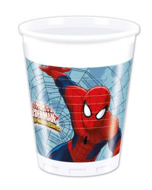 Kopper (8stk): Spiderman - 200ml