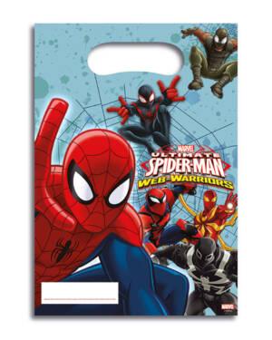 Godteposer (6stk): Spiderman