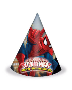 Festhatter (6stk): Spiderman