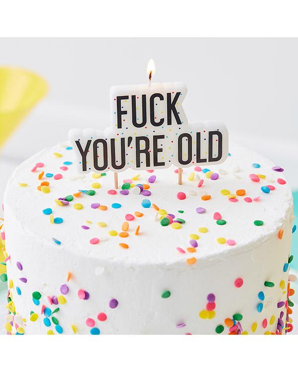 """Kakelys: """"Fuck You're old"""" - 10cm"""
