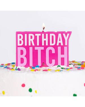 """Kakelys: """"Birthday Bitch"""" - 10cm"""