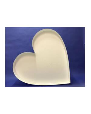Mosaikkramme til ballonger: Hjerte - 120cm