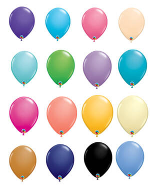Lateksballonger (100stk): Fashion Tone - 28cm