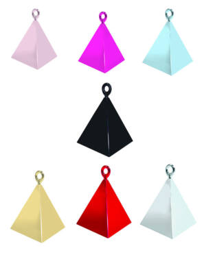 Ballongvekt: Pyramide - Flere farger - 110g