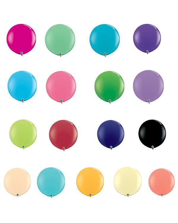 Lateksballonger (2stk): Fashion Tone - 91cm