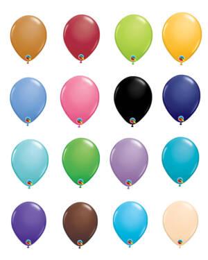 Lateksballonger (100stk): (Fashion Tone) - 13cm