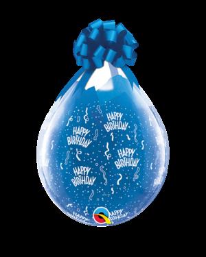 """Gave i Ballong (25stk): """"Happy Birthday"""" - 46cm"""