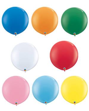 Lateksballonger (2stk): Standard - 91cm