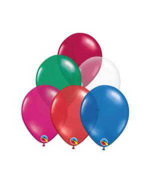 Lateksballonger (100stk): Jewel Tone - 13cm