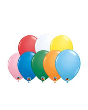 Lateksballonger (100stk): Standard - 13cm