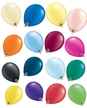 Lateksballonger (100stk): Pearl Tone - 13cm