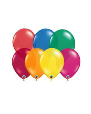 Lateksballonger (100stk): Jewel Tone - 28cm